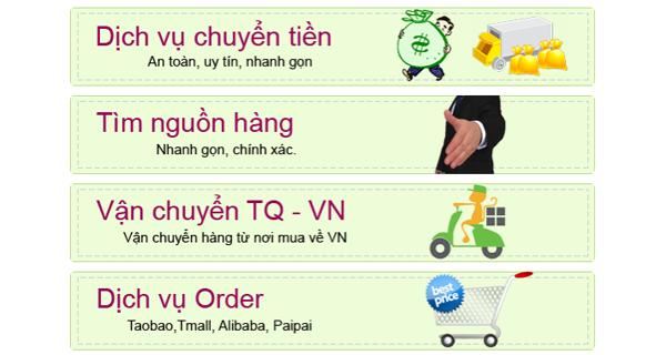 link đặt mua hàng ở taobao
