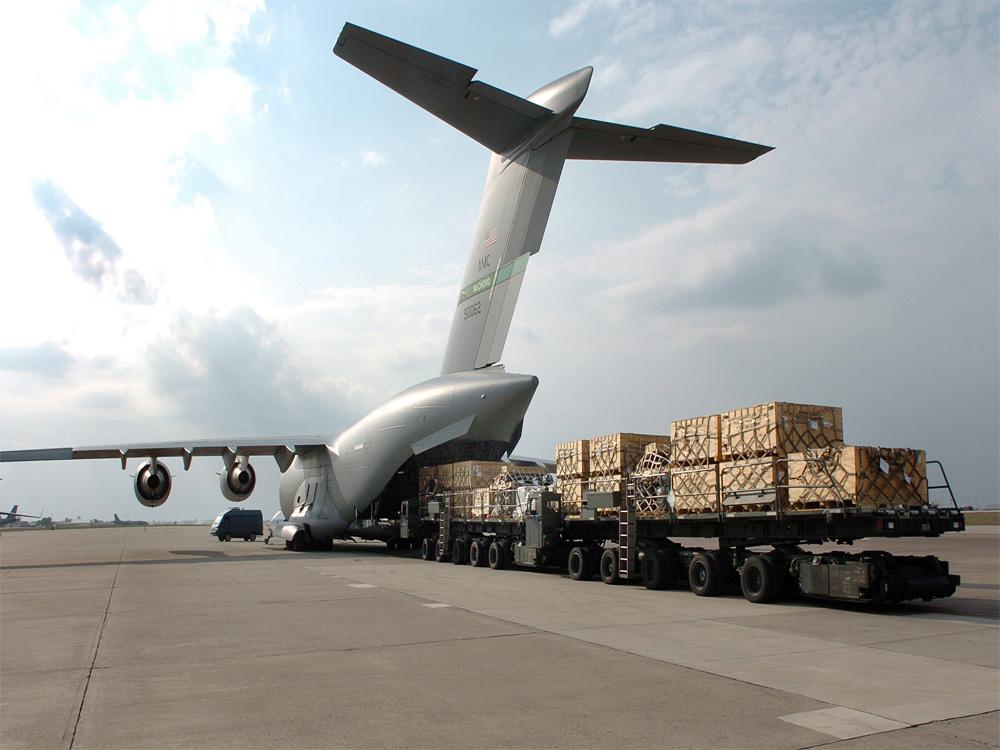 vận chuyển hàng từ Trung Quốc về qua đường hàng không khá tối ưu