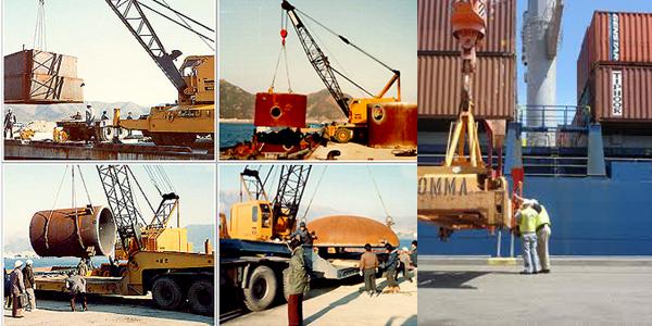 Vận chuyển hàng qua đường biển từ Trung Quốc cũng tương đối phổ biến
