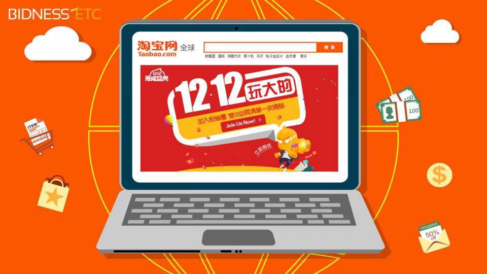 Nhu cầu mua hàng Taobao ngày càng tăng